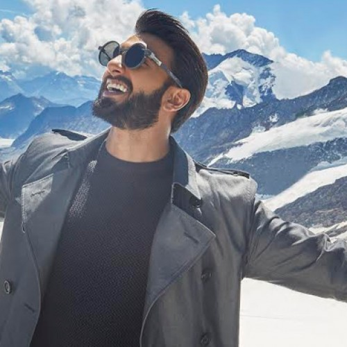 Ranveer's Swiss Affair; the actor takes on the mantle of brand ambassador for Switzerland