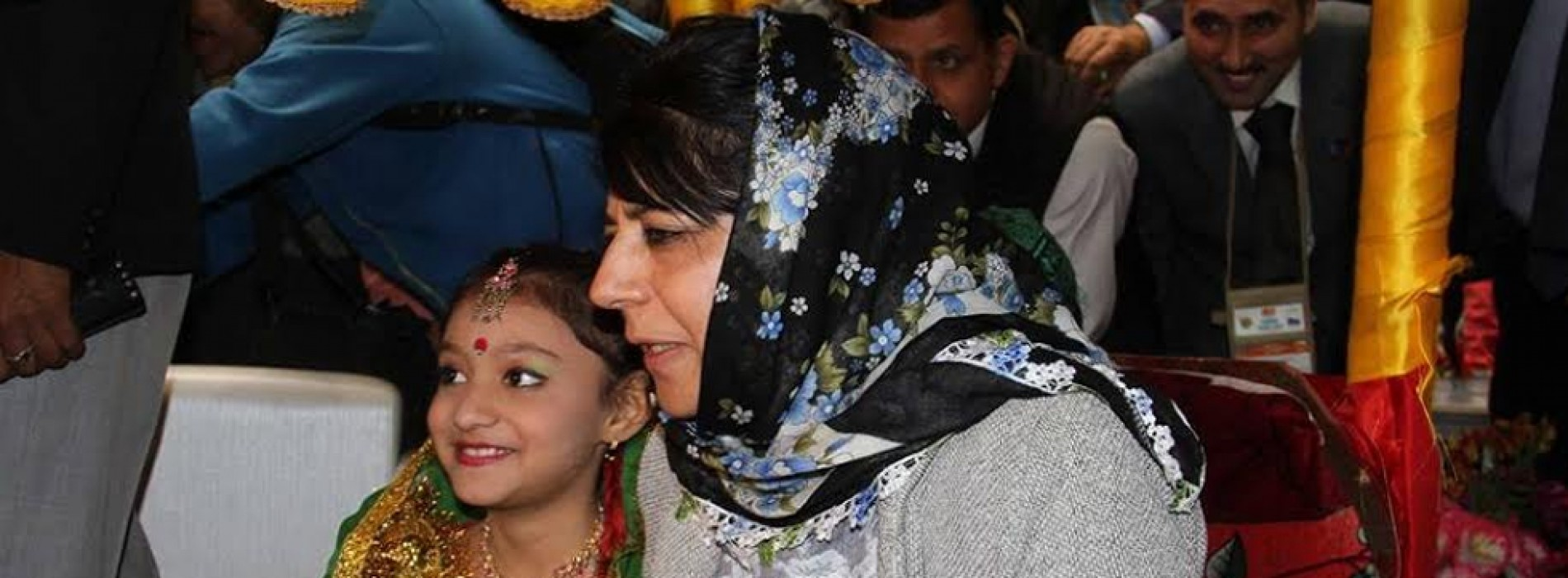 Jammu & Kashmir Chief Minister Mehbooba Mufti addresses ITM at Jammu
