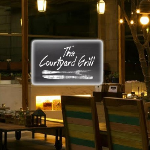 Get fired up at The Courtyard Grill!