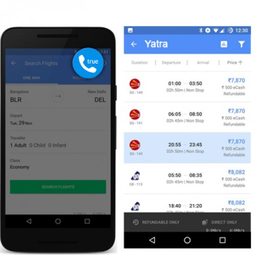 Yatra.com introduces one-tap registration by integration with Truecaller