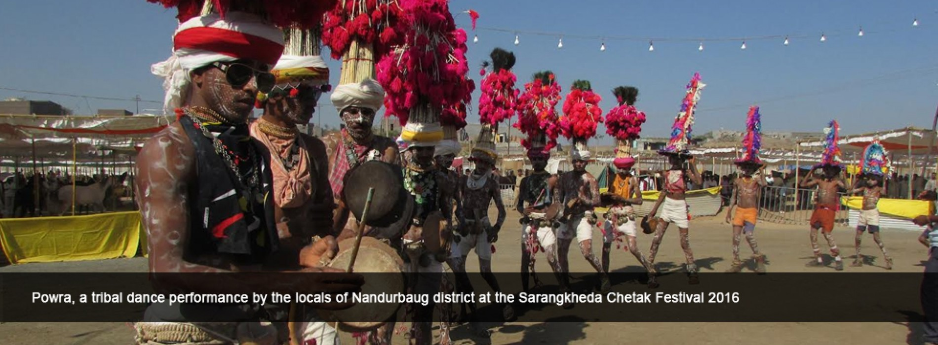Colours came alive at the Sarangkheda Chetak Festival 2016