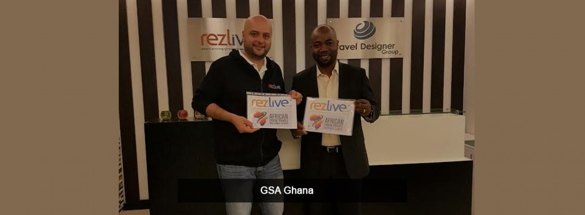 """RezLive.com appoints """"African Origin Travels & Sports Tourism"""" as its General Sales Agent in Ghana"""