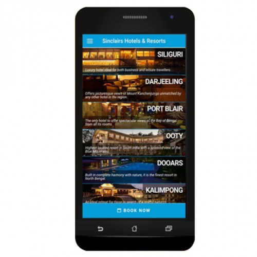 Sinclairs Hotels launches Mobile App