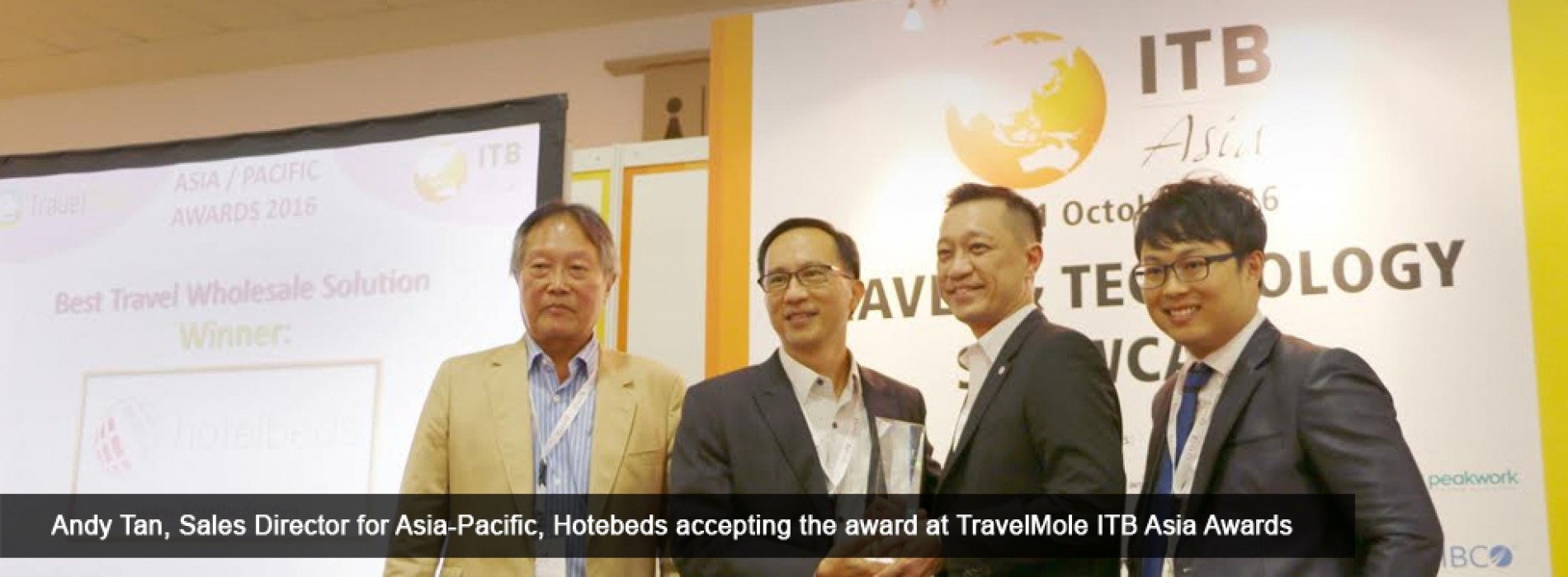 Hotelbeds Group wins two consecutive awards in Asia-Pacific