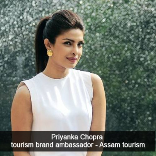 Assam signs Priyanka Chopra as tourism brand ambassador