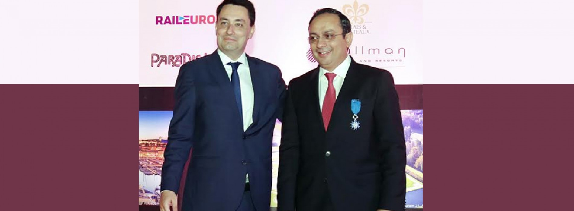 President of France François Hollande bestows the prestigious National Order of Merit on Zubin Karkaria