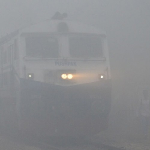 Train and flight services delayed as fog engulfs Delhi