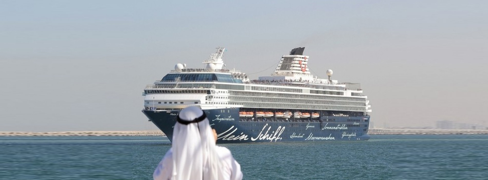 Abu Dhabi cruise tourism rides wave of success