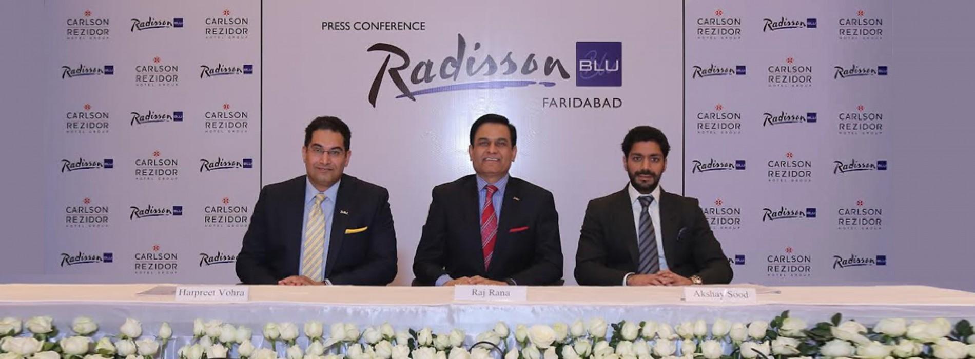 Radisson Blu Hotel Faridabad – The City's First International Upper Upscale Hotel opens