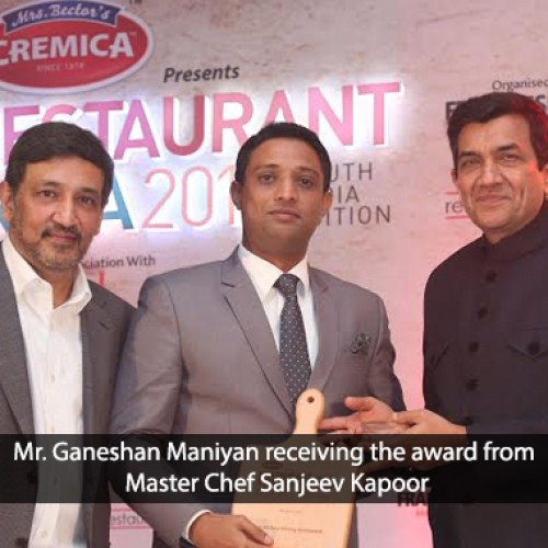 'Restaurant India Awards' confer Momo Café at Courtyard by Marriott Bengaluru