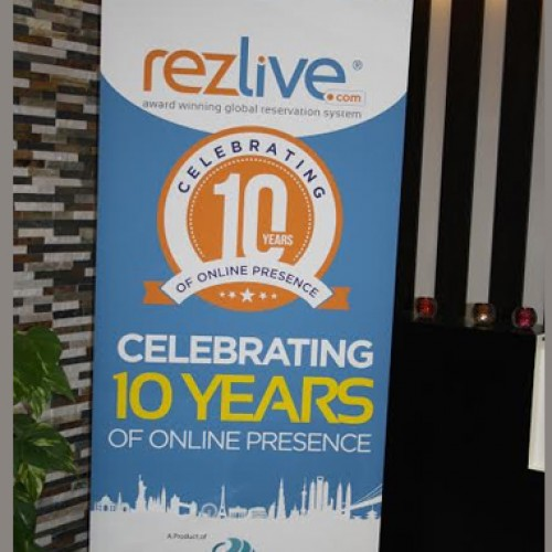 RezLive.com celebrating 10 years of online presence