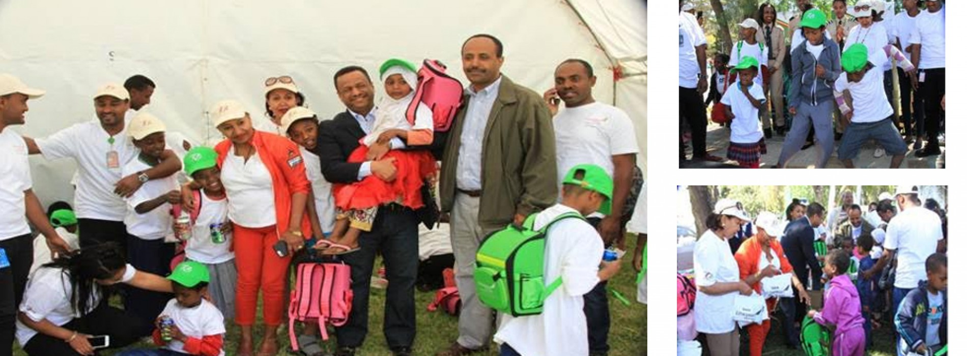 Ethiopian marks annual Christmas party day with orphans