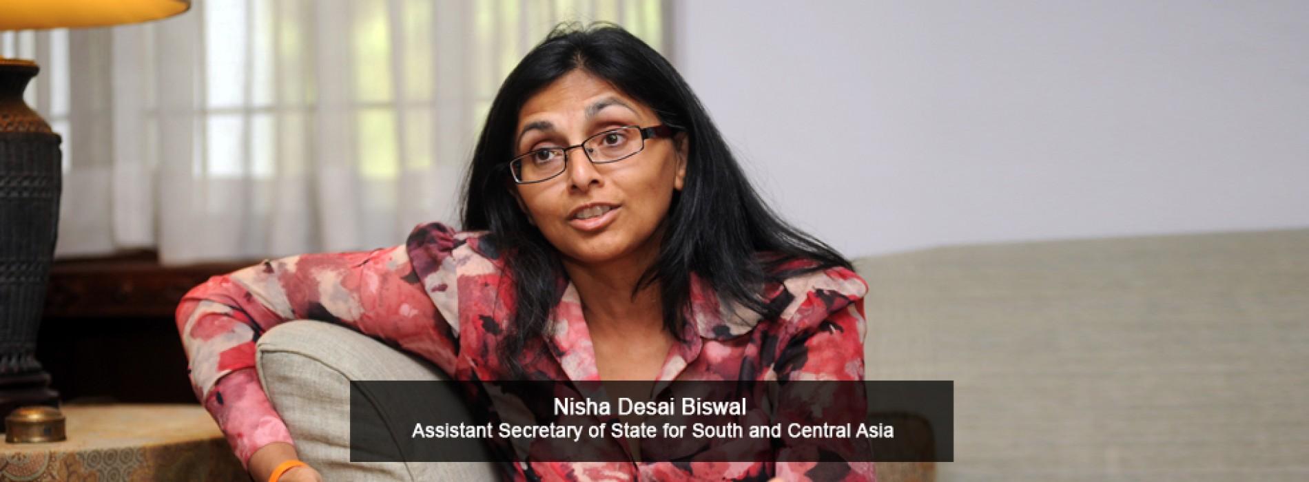 US diplomat Nisha Desai Biswal to visit India for talks