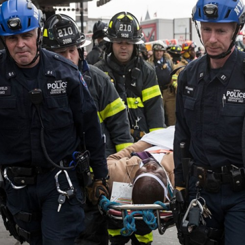 More than 100 hurt in New York train derailment