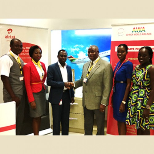 Airtel Ghana offers Africa World Airlines fare discounts