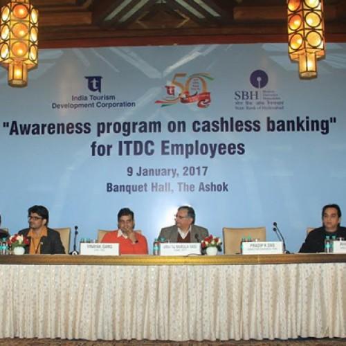 "ITDC holds Awareness Program on ""Cashless banking"""