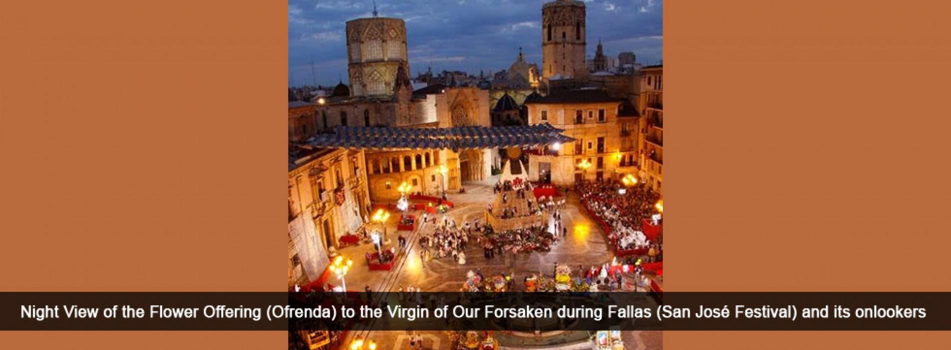 Las Fallas of Valencia declared as Intangible Cultural Heritage by UNESCO