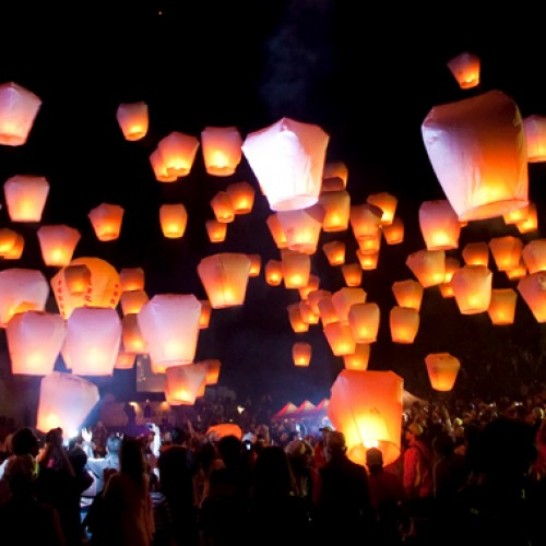 The bright and beautiful Taiwan Lantern Festival!