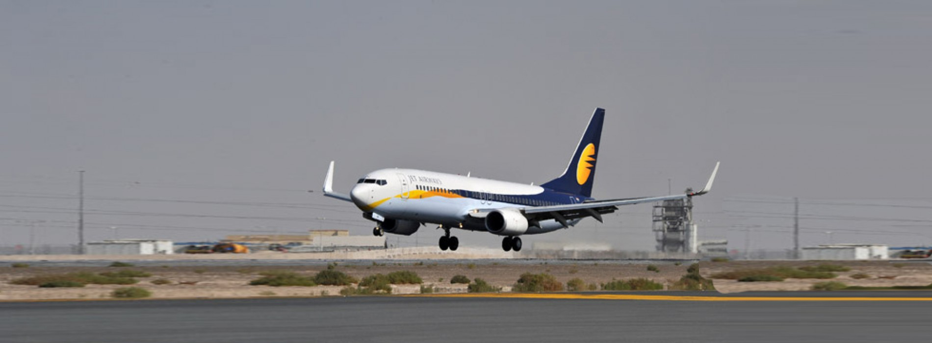 Jet Airways plane hits runway: Crew put off roster