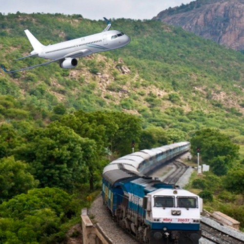 Air traffic grows 23%, railways AC travel under 5%