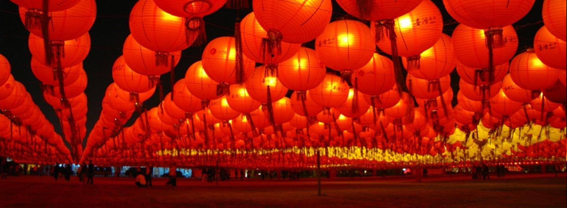 The bright and beautiful Taiwan Lantern Festival!