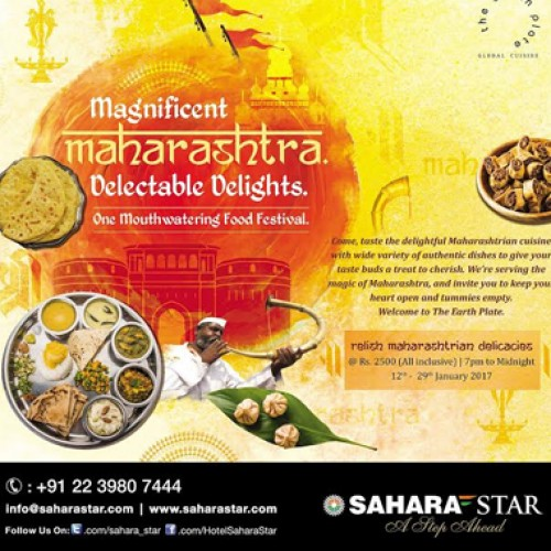 Indulge in the delectable Maharashtrian delicacies at Hotel Sahara Star