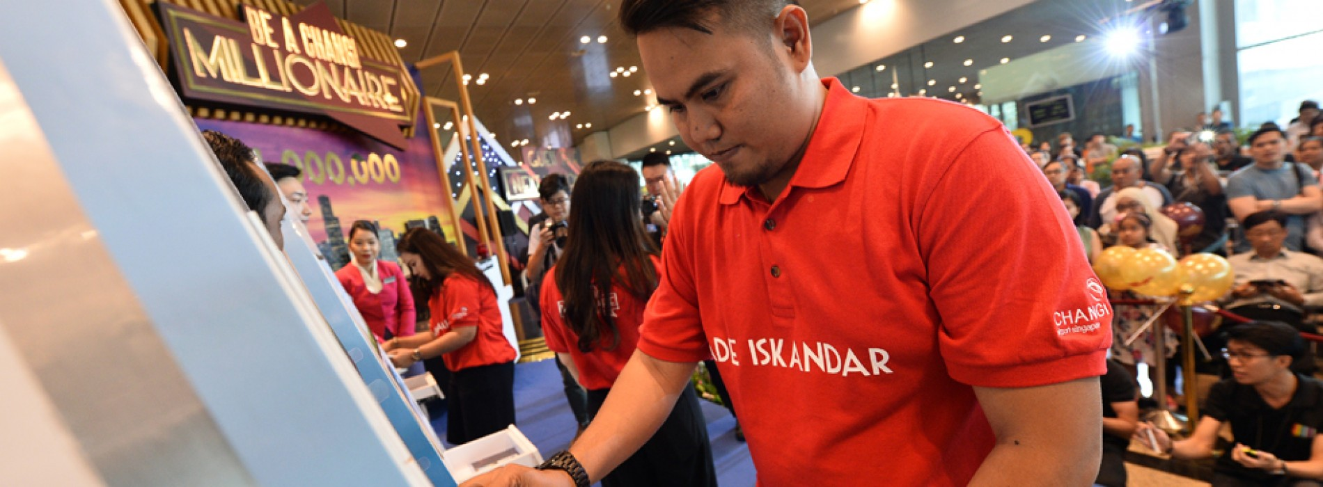 Changi Airport crowns 39-year-old Indonesian as its newest millionaire!