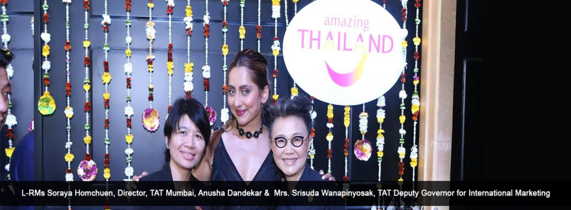 Amazing Thailand hosts a press meet with TAT Deputy Governor and brand ambassador Anusha Dandekar