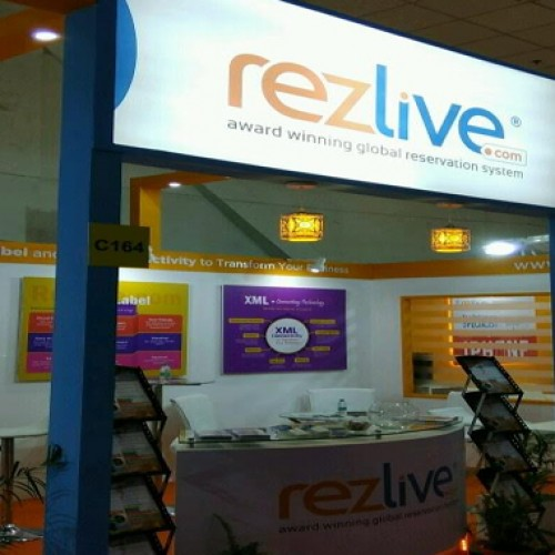 RezLive.com outshines at SATTE 2017