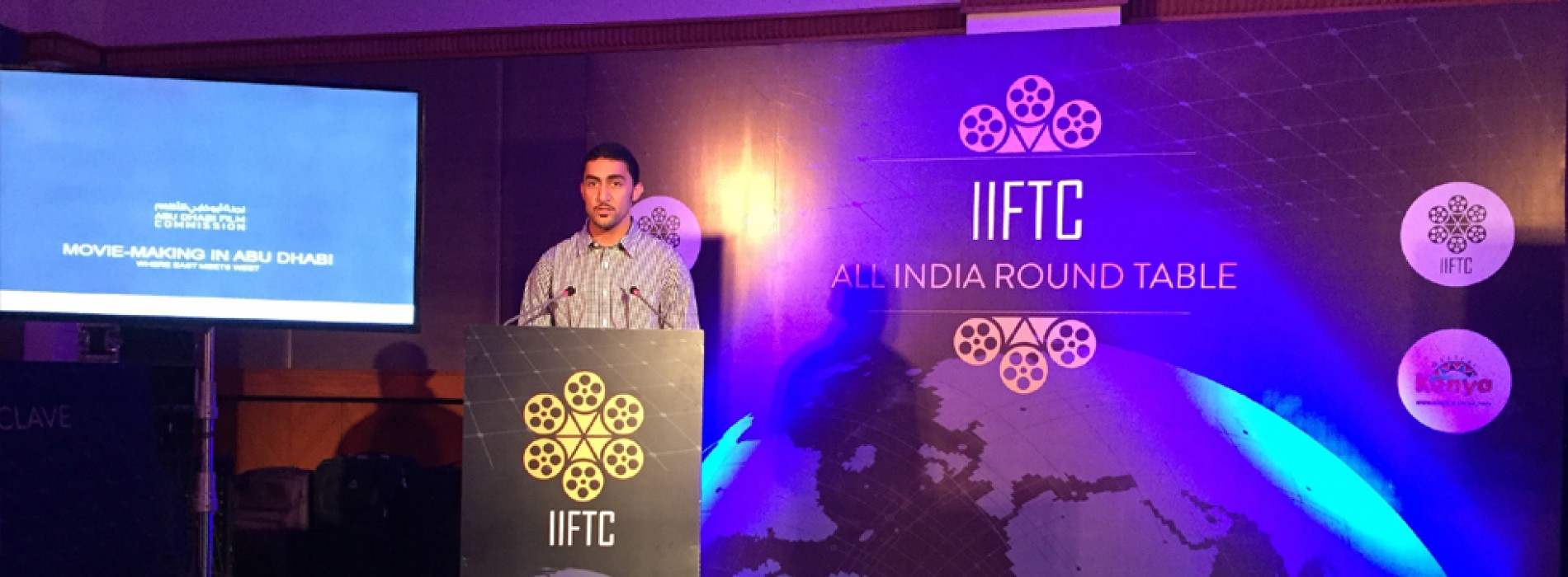 TCA Abu Dhabi Film Commission attend India International Film Tourism Conclave