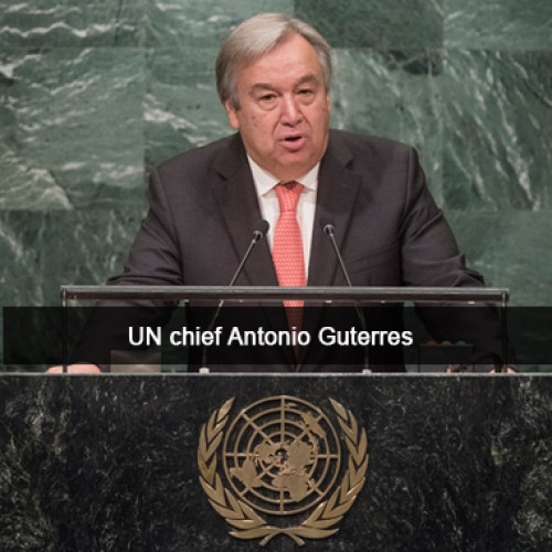 UN chief calls for lifting US travel ban