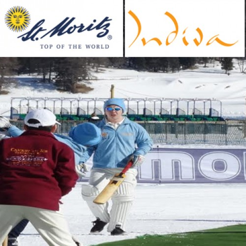 Visit St. Moritz to witness a different way of playing Cricket – on Ice!