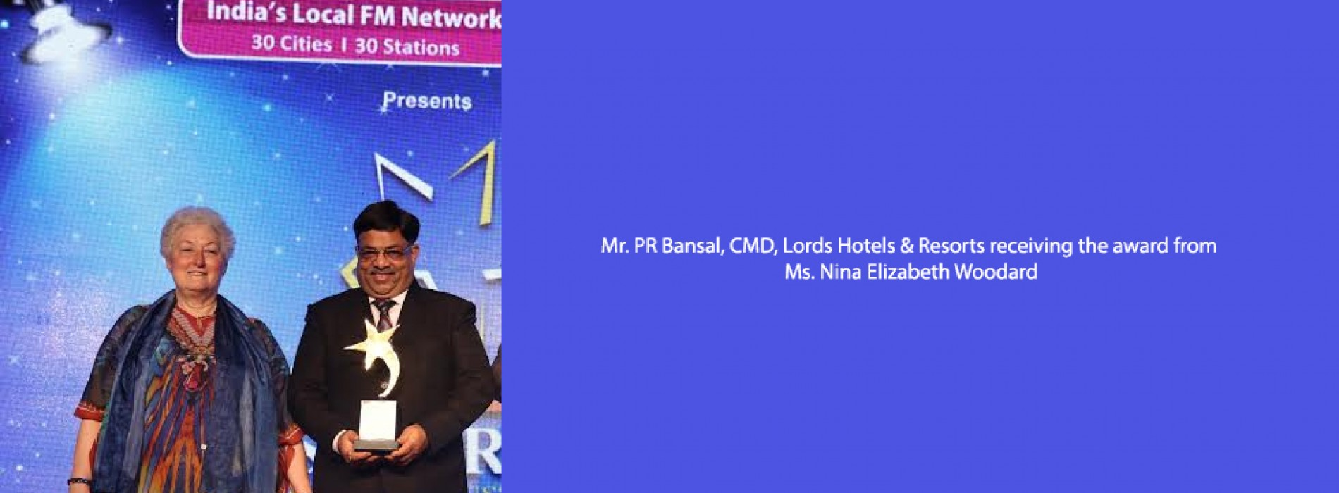 Lords Hotels & Resorts awarded the 'Best Mid-Market Hotel Chain' for the 2nd consecutive year