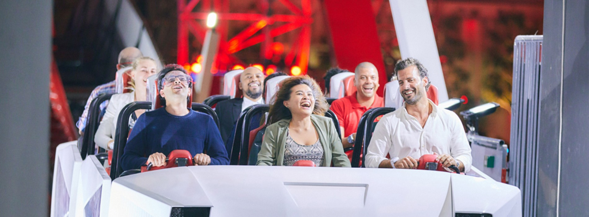 "Ferrari World Abu Dhabi Officially Opens its Latest Rollercoaster ""Turbo Track"""