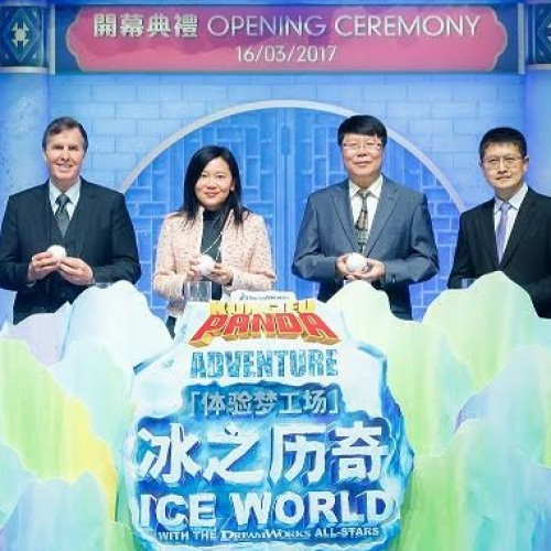 Kung Fu Panda Adventure Ice World with the DreamWorks All-Stars opens at The Venetian Macao