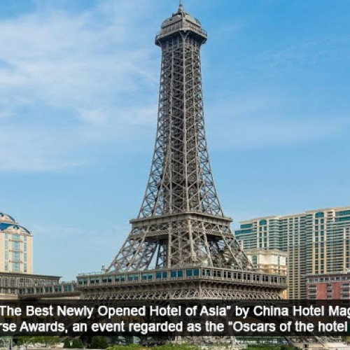 The Parisian Macao wins top title at Prestigious China Hotel Industry Golden Horse Awards