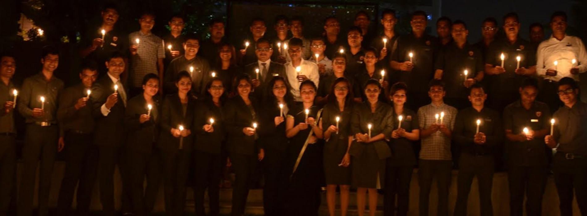 JW Marriott Mumbai Sahar goes dark to shine a light on climate action