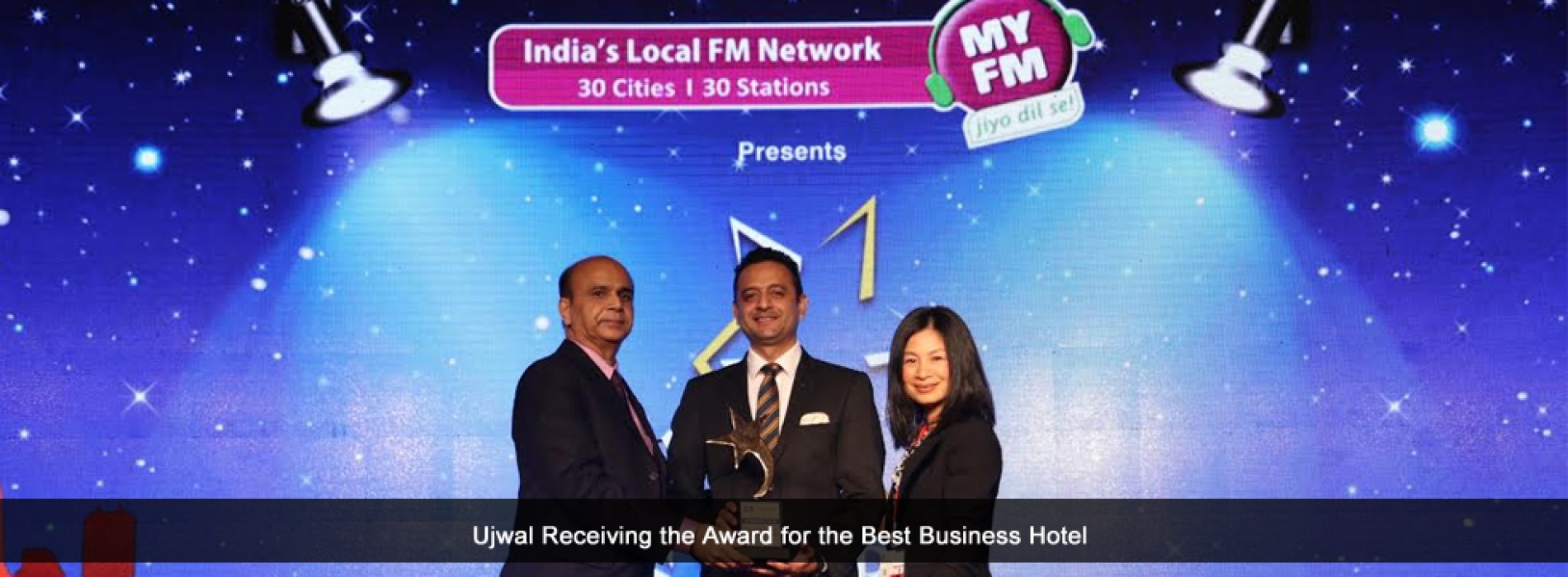 Courtyard by Marriott and Fairfield by Marriott bags the 'Best Business Hotel of the year' at the Lonely Planet Travel and Lifestyle Leadership Awards