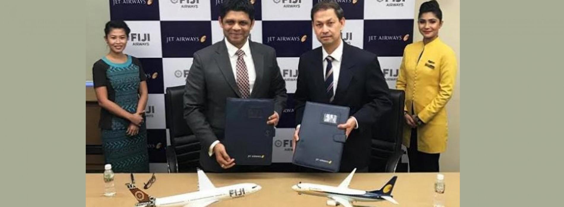 Jet Airways And Fiji Airways announce Codeshare Agreement