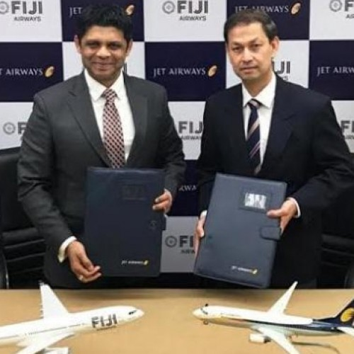 Jet Airways And Fiji Airways announce Codeshare Agreement