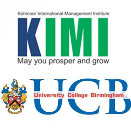 KIMI enters into a tie up with University College Birmingham, UK