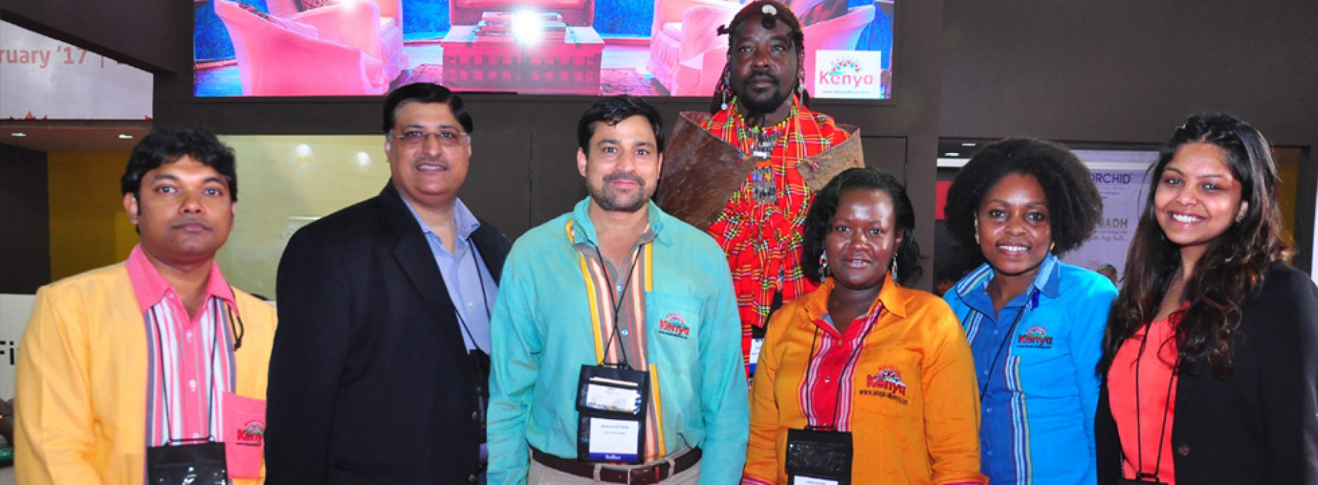 Kenya Tourism Board participates at India's leading Outbound Travel Mart 2017