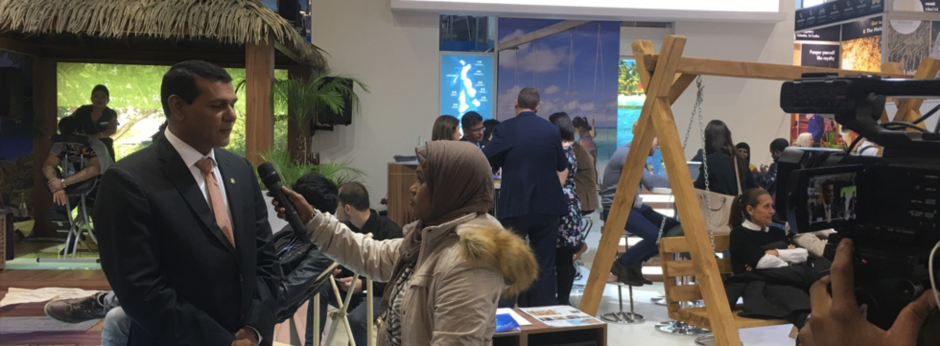 Maldives showcases destination experiences at the World's leading Travel trade show, ITB