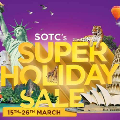 SOTC launches The Super Holiday Sale to entice customers this holiday season