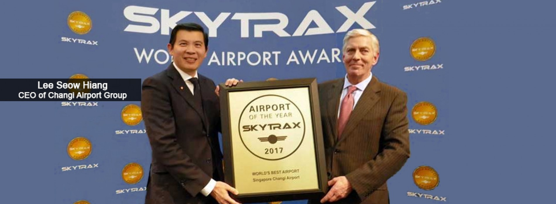 Changi Airport is named the World's Best Airport for the fifth consecutive year
