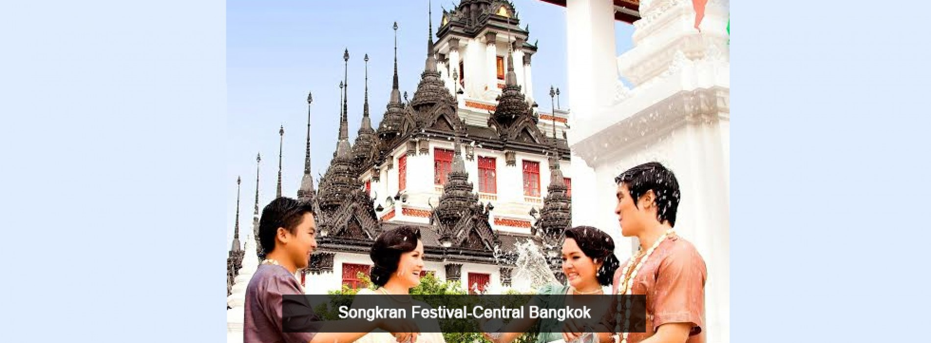 Experience fun-filled Songkran festival in Thailand