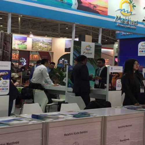 Maldives showcased the Sunny Side of life at China's No.1 B2B Fair COTTM 2017
