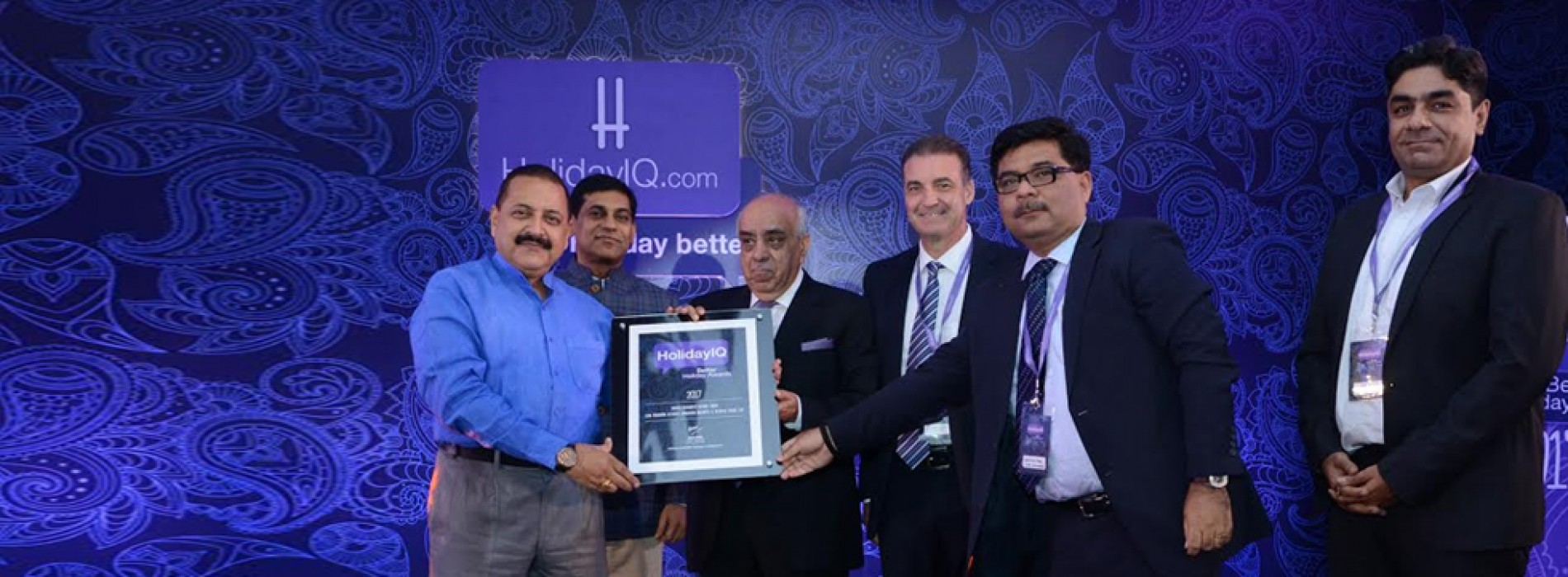 Mahindra Holidays voted India's Favorite Resort Chain at the HolidayIQ Awards