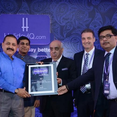 Mahindra Holidays voted India's Favorite Resort Chain at the HolidayIQ Awards