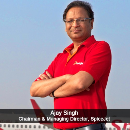 Most Outstanding Global Aviation Turnaround Ajay Singh, Chairman & Managing Director, SpiceJet
